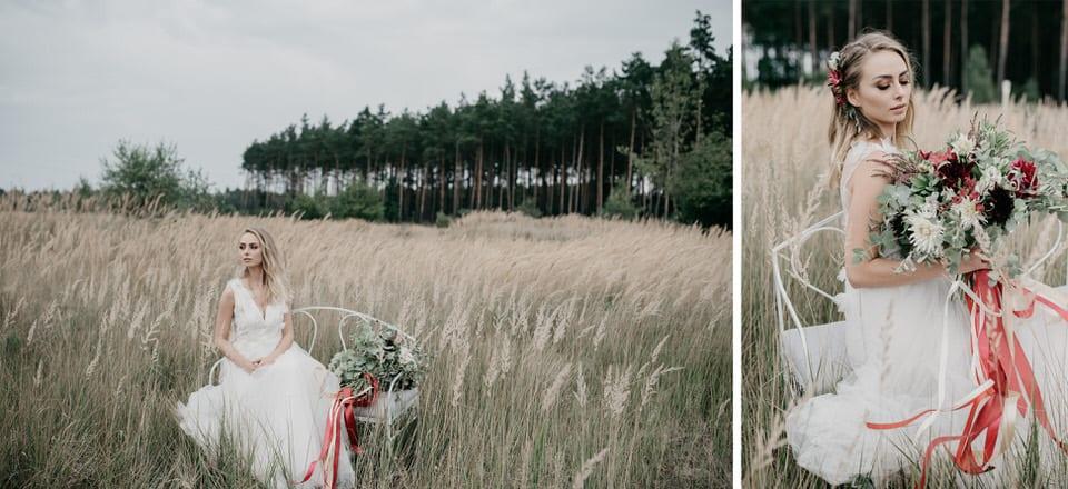 Fotografia ślubna Szczecin, ślub w stylu boho, sesja ślubna boho, suknia ślubna boho, bukiet boho, panna młoda, paulina czyżowicz makeup, albert czyżowicz fotograf