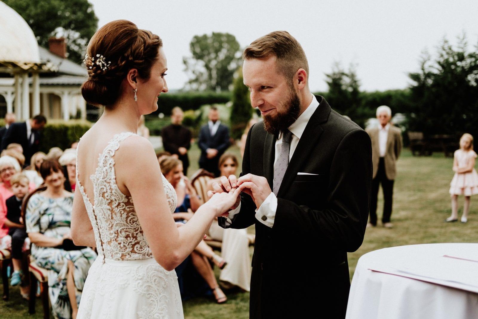ślub na zewnątrz, albert czyżowicz