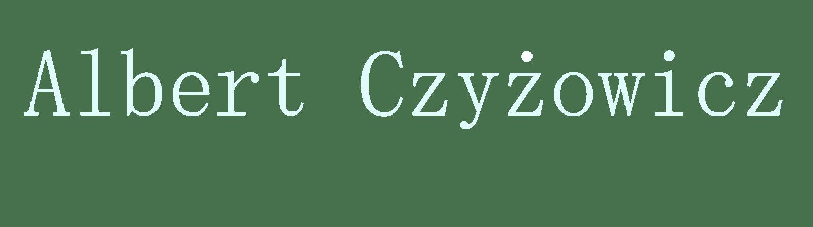 Albert Czyżowicz