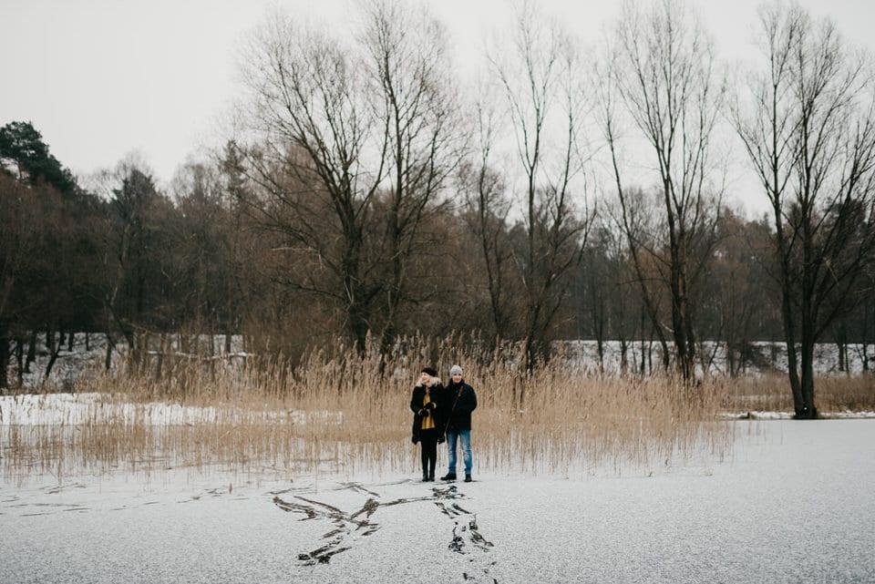sesja na jeziorze