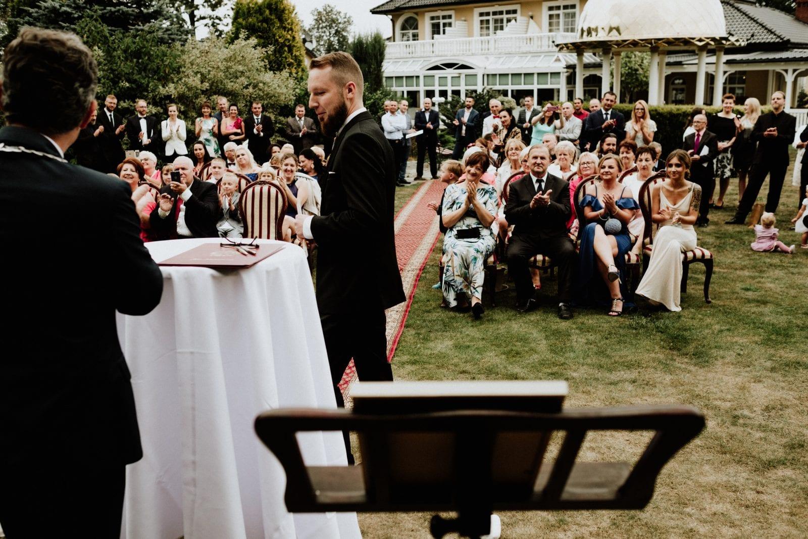 Ślub plenerowy w Dworku Hetmańskim