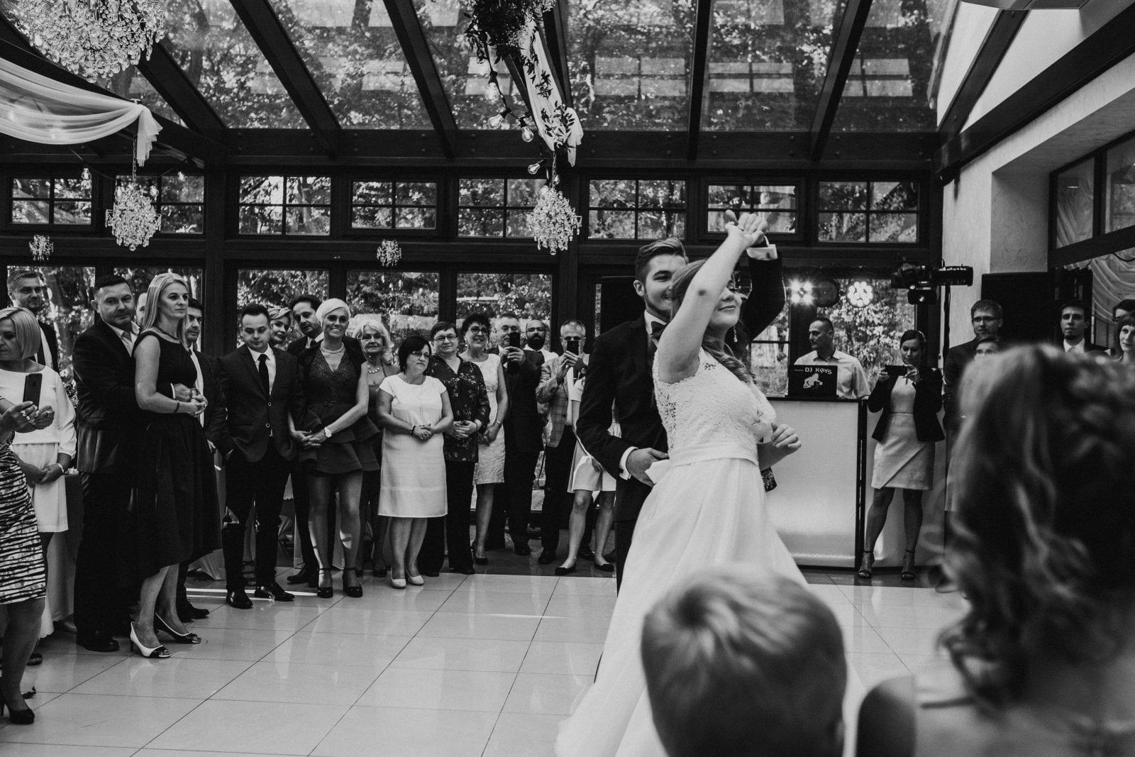 pierwszy taniec w Leśnym Domu w Barlinku