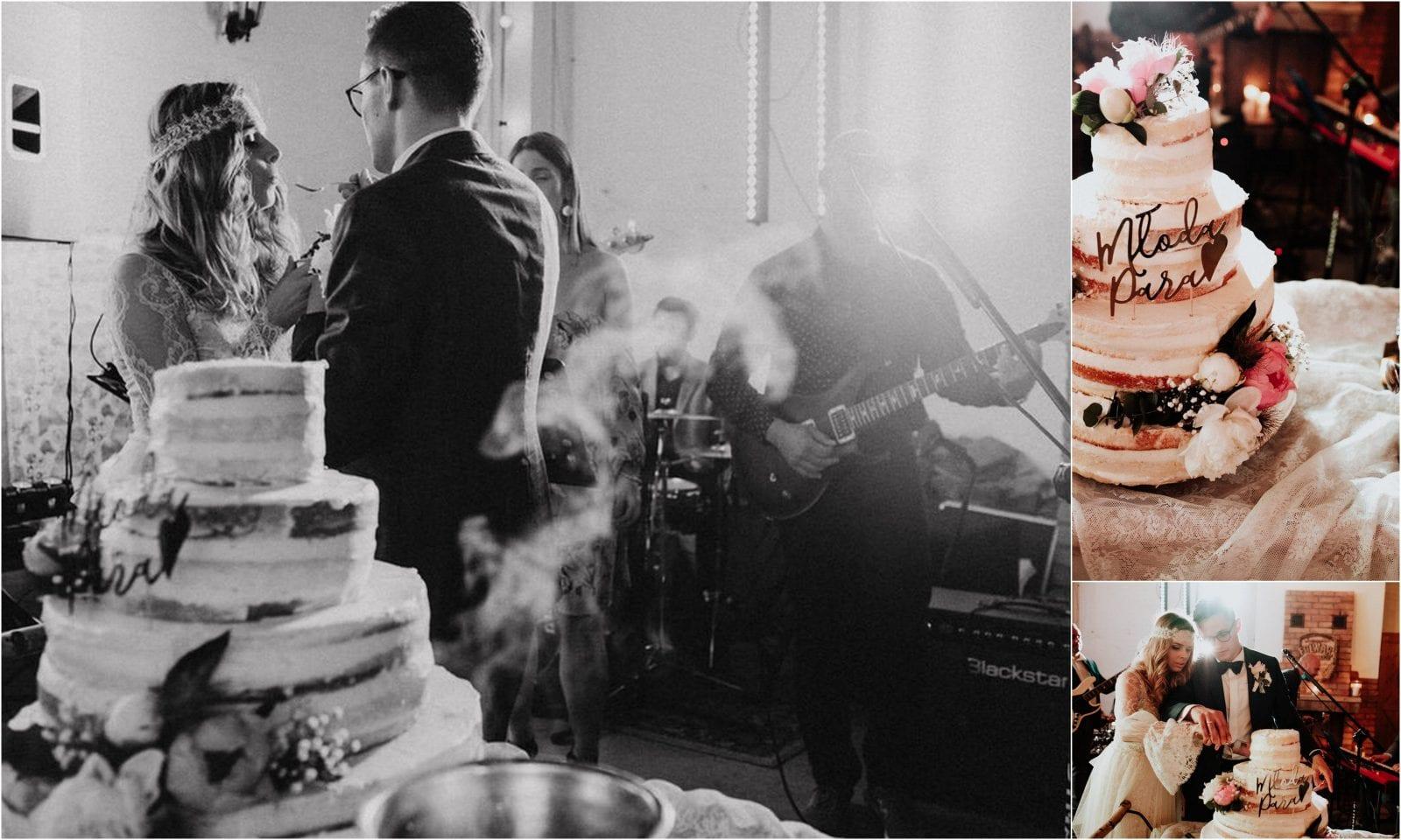 Folwark w Plenerze, tort weselny, Mamie się upiecze