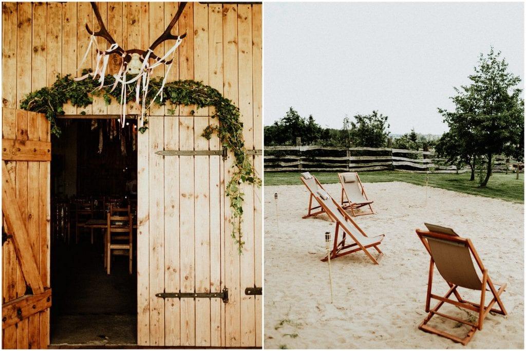 wesele w stodole Słodkówko