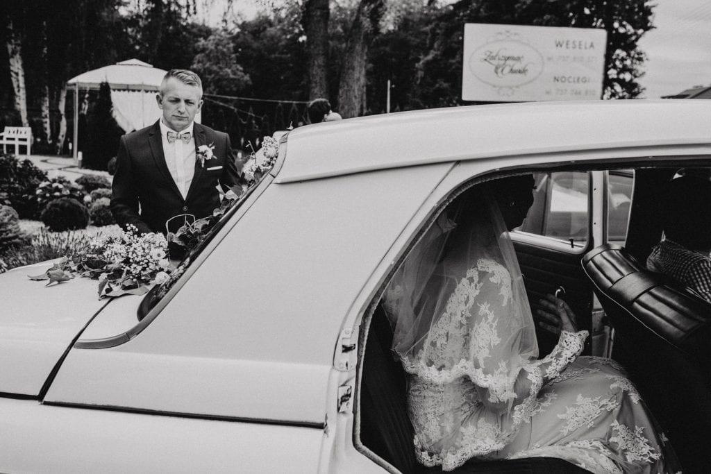 stare zabytkowe auto do ślubu Szczecin