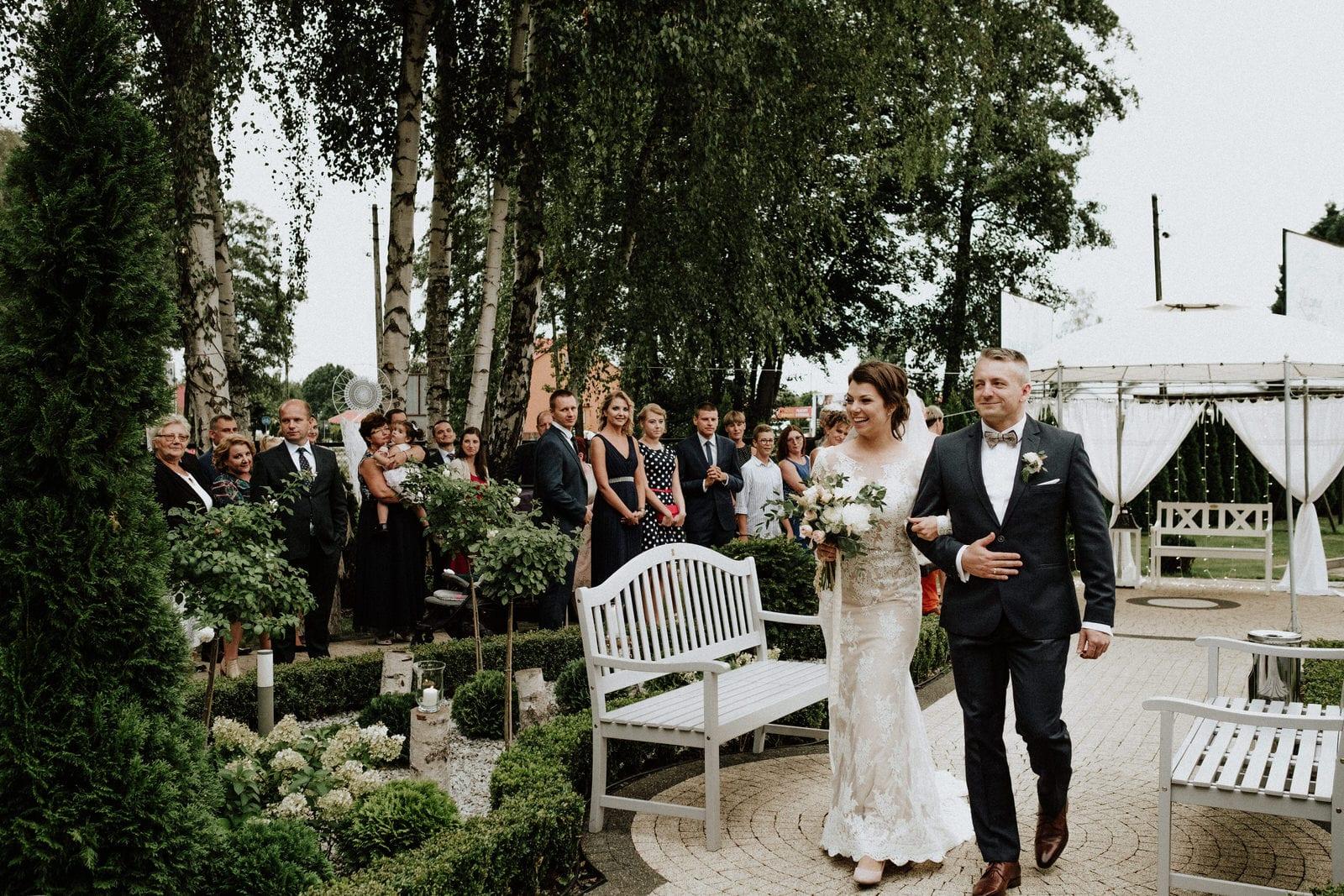 Zatrzymać Chwilę nad Miedwiem ślub boho
