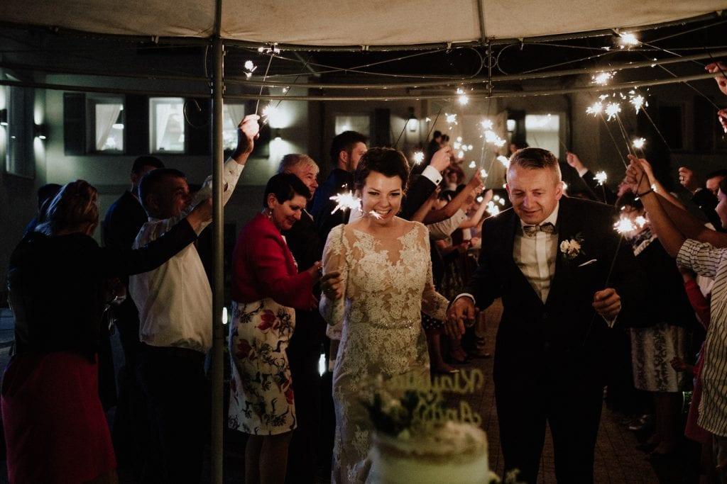 piękny naturalny tort na weselu Szczecin