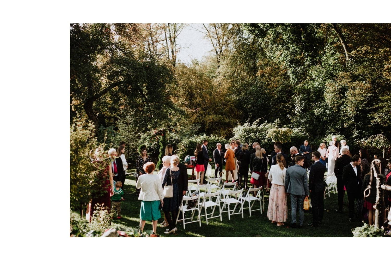 ślub jesienią w Młynie nad Starą Regą