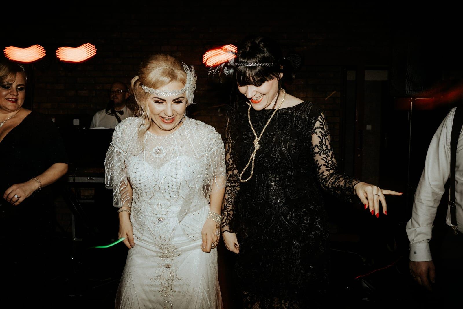 Piękny ślub w stylu lat 20