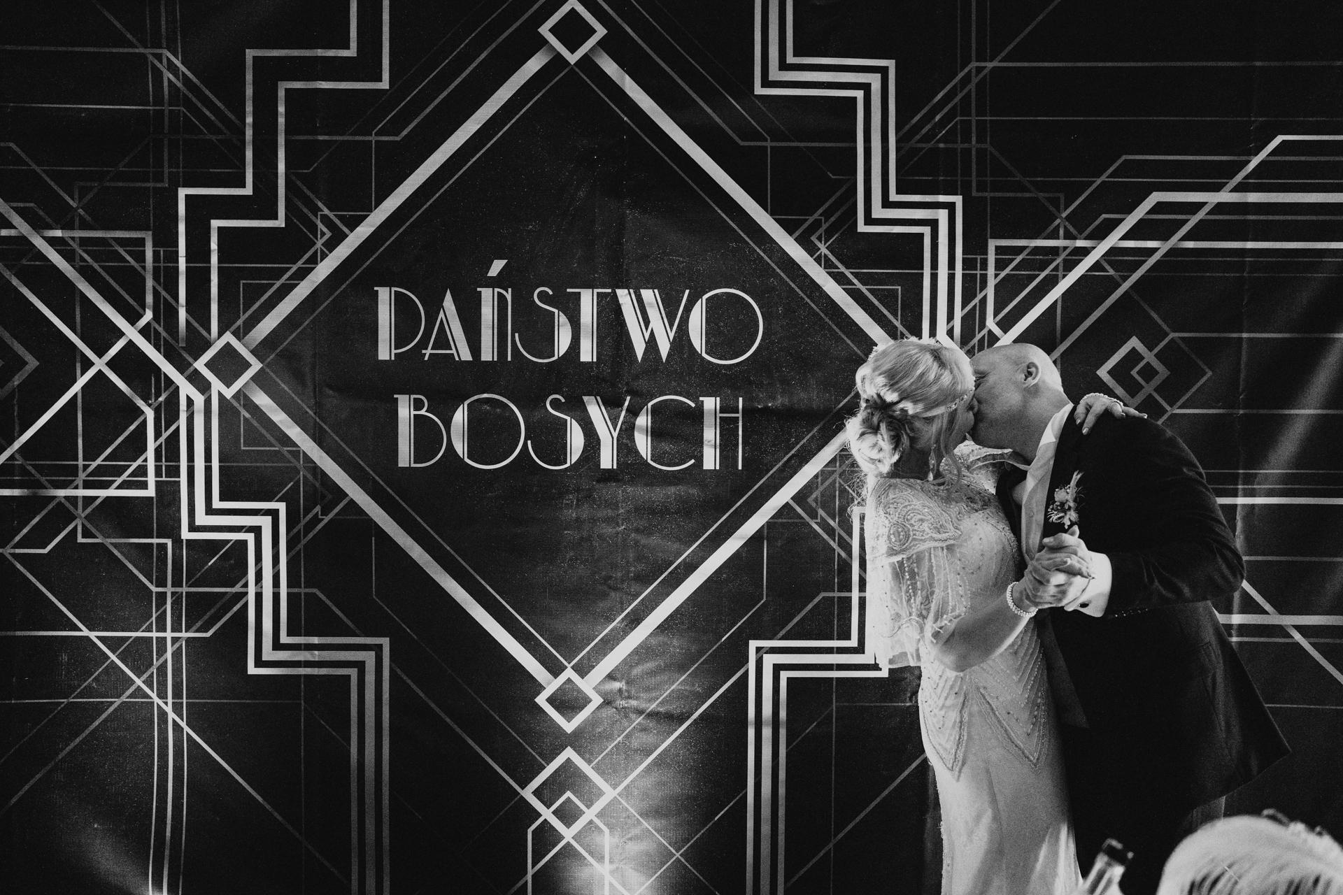 wesele w stylu wielki gatsby