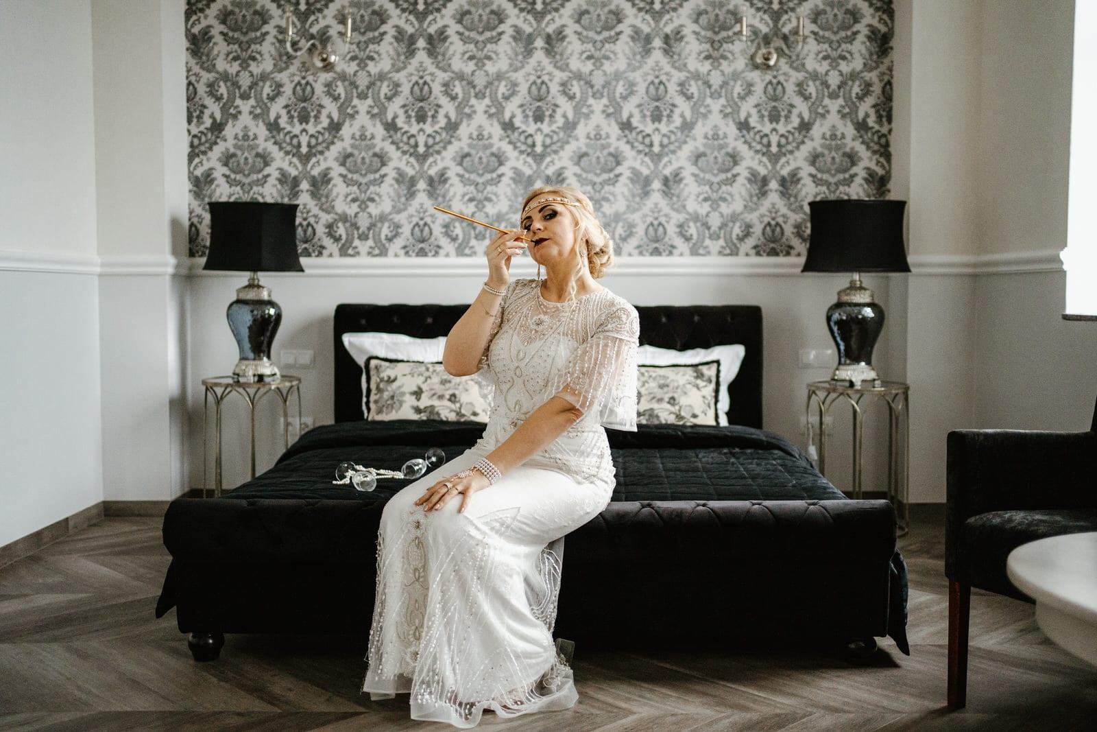Ślub w stylu lat 20
