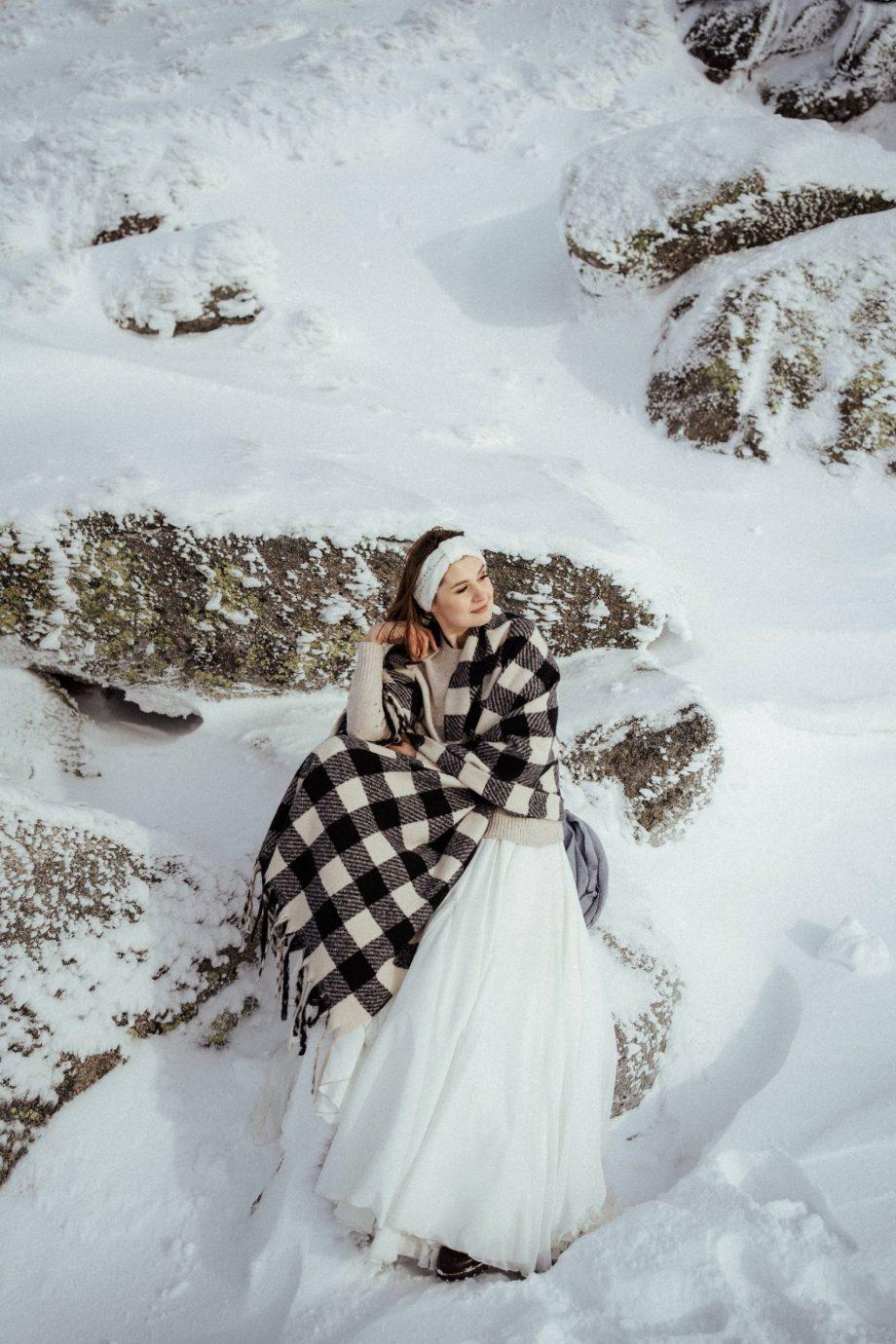 Sesja zimowa w górach