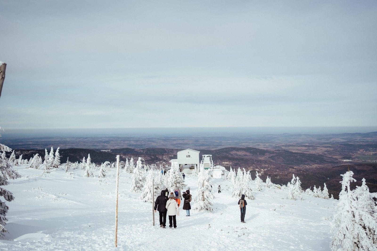 Szrenica i sesja poślubna w górach