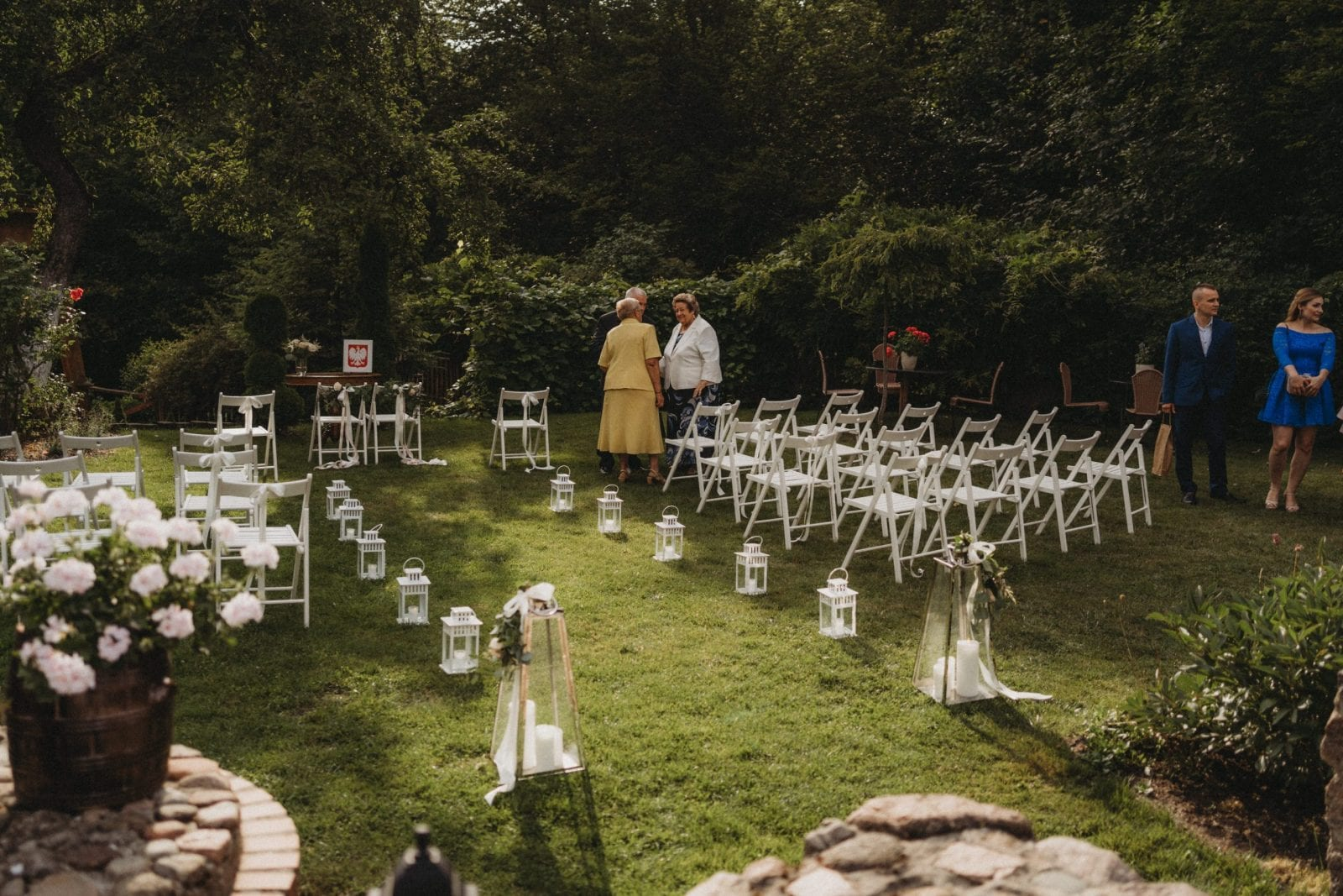 dekoracje ślub plenerowy