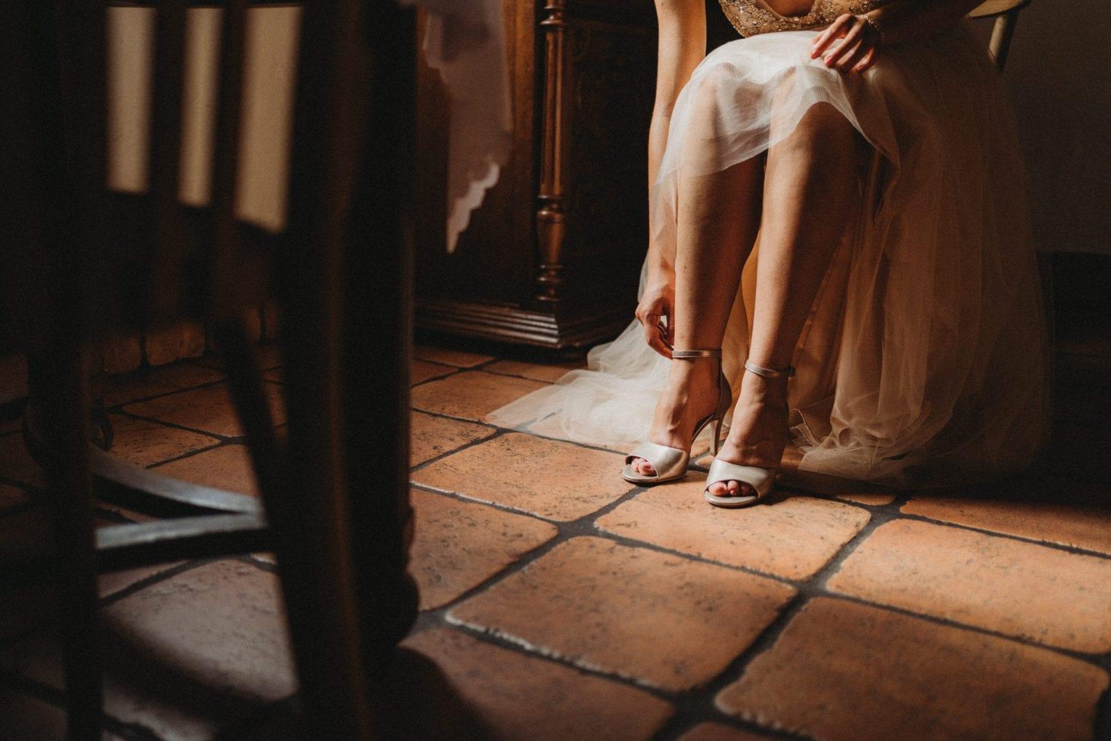 przygotowania ślubne w Młynie nad Starą Regą