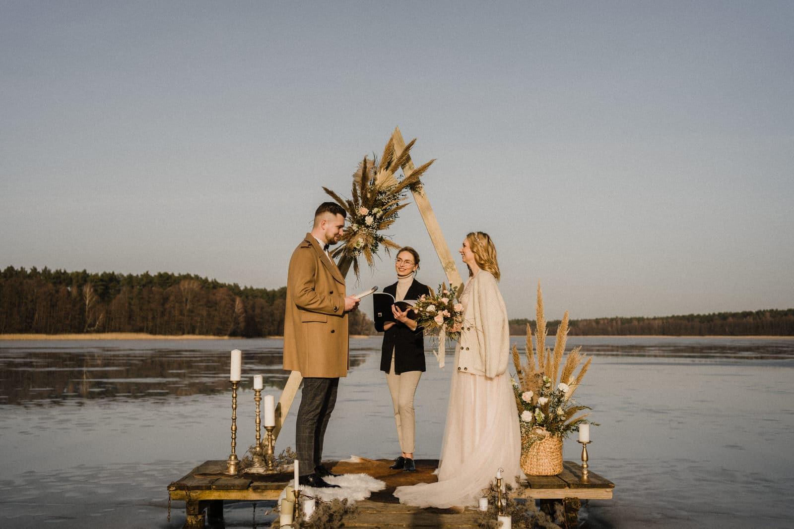 pomysł na mały ślub