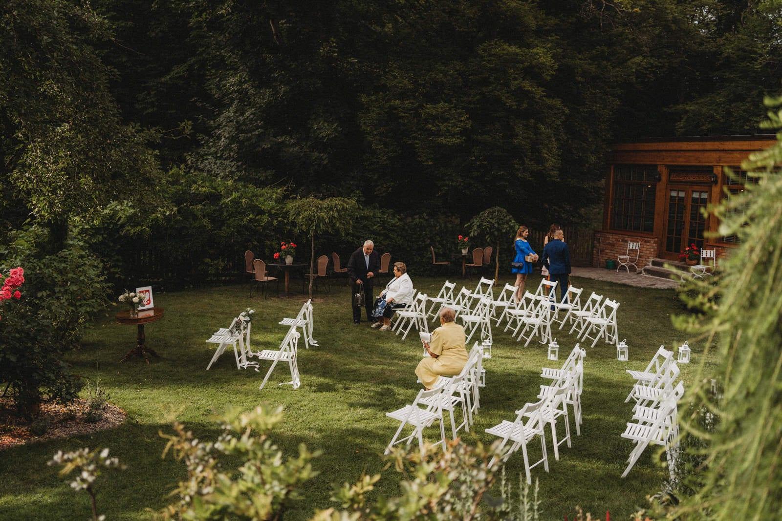 ceremonia w Młynie nad Starą Regą