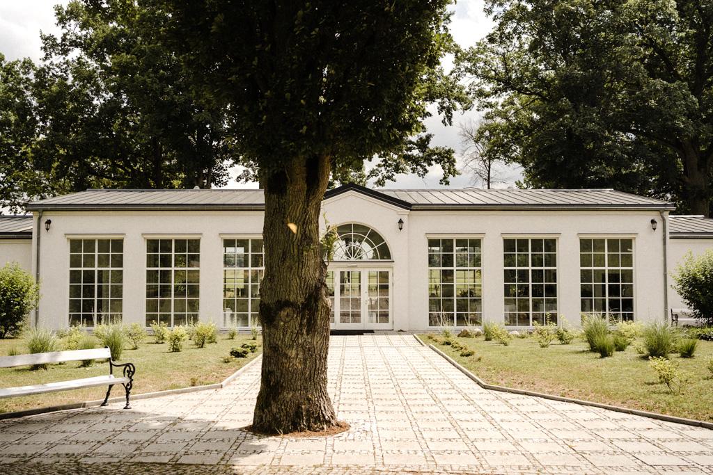Pałac Wiejce restauracja bursztynowa
